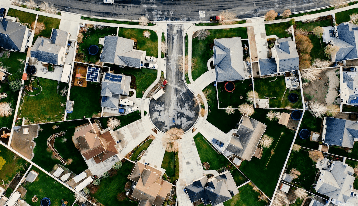 https://www.pexels.com/photo/aerial-view-of-house-village-2255938/